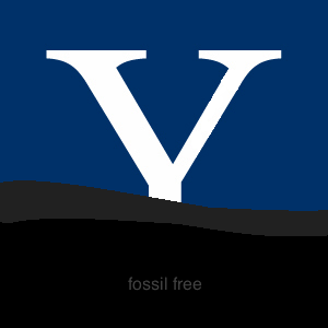 fossil free yale